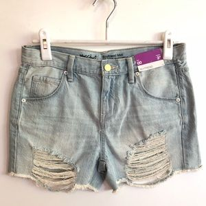 Mossimo Denim Shorts Boyfriend.